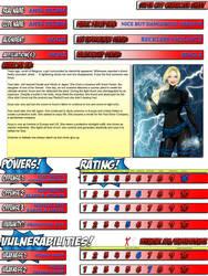 Anya Storm - Super City Character Sheet by AnyaStorm