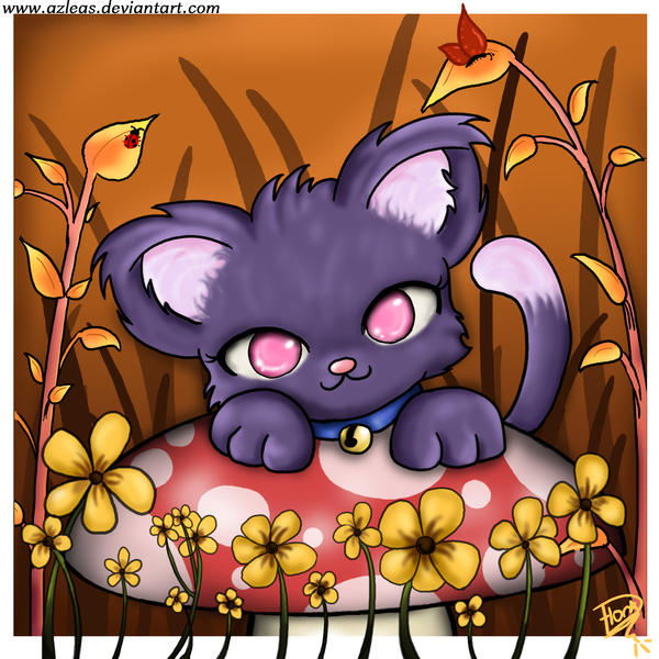 Autumn Kitty by Azleas