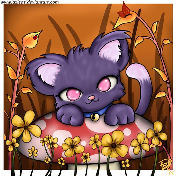 Autumn Kitty by Azleas