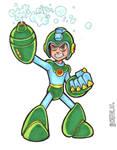 Bubble Lead Mega Man