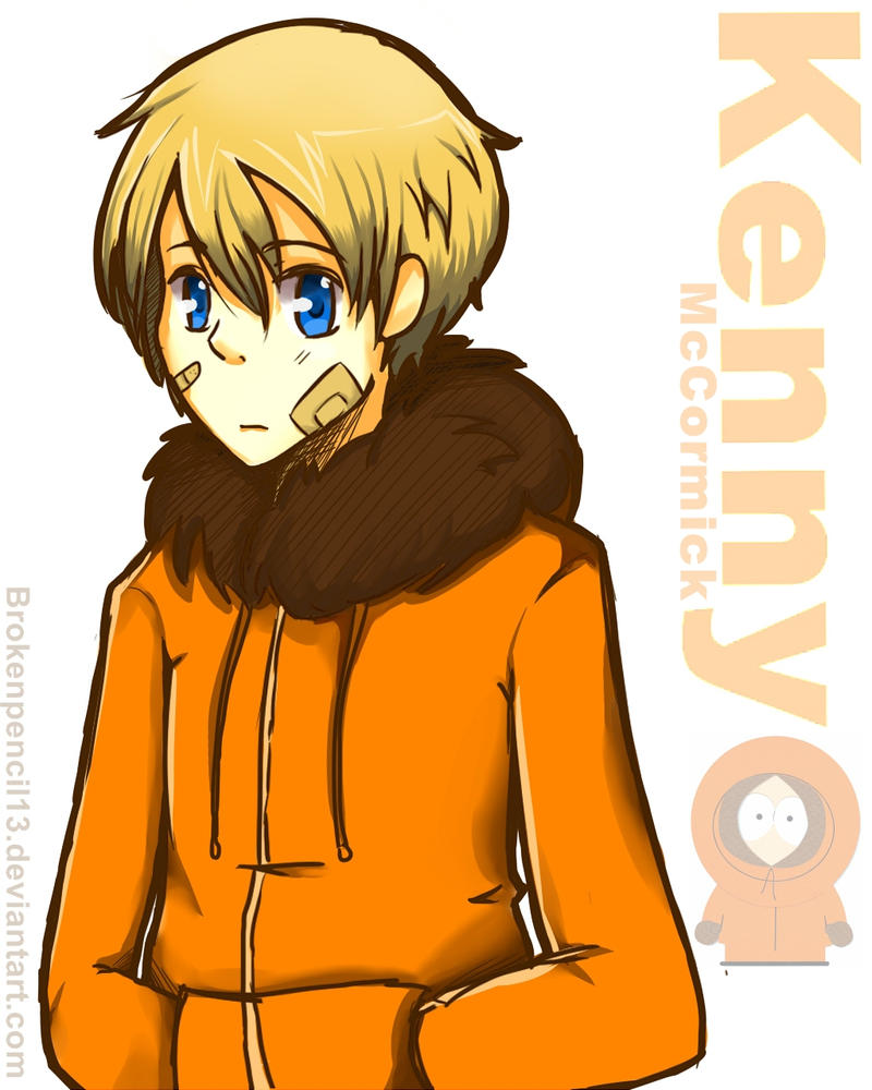 Kenny McCormick by BrokenPencil13