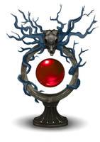 Satyr Blood Orb by Ana-Iliem