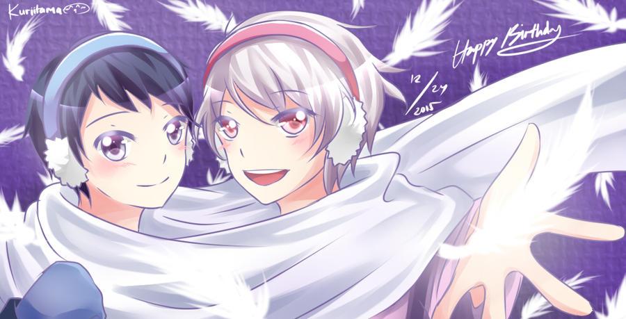 Happy Birthday Itsuki and Tsubasa~! by Kuriitama