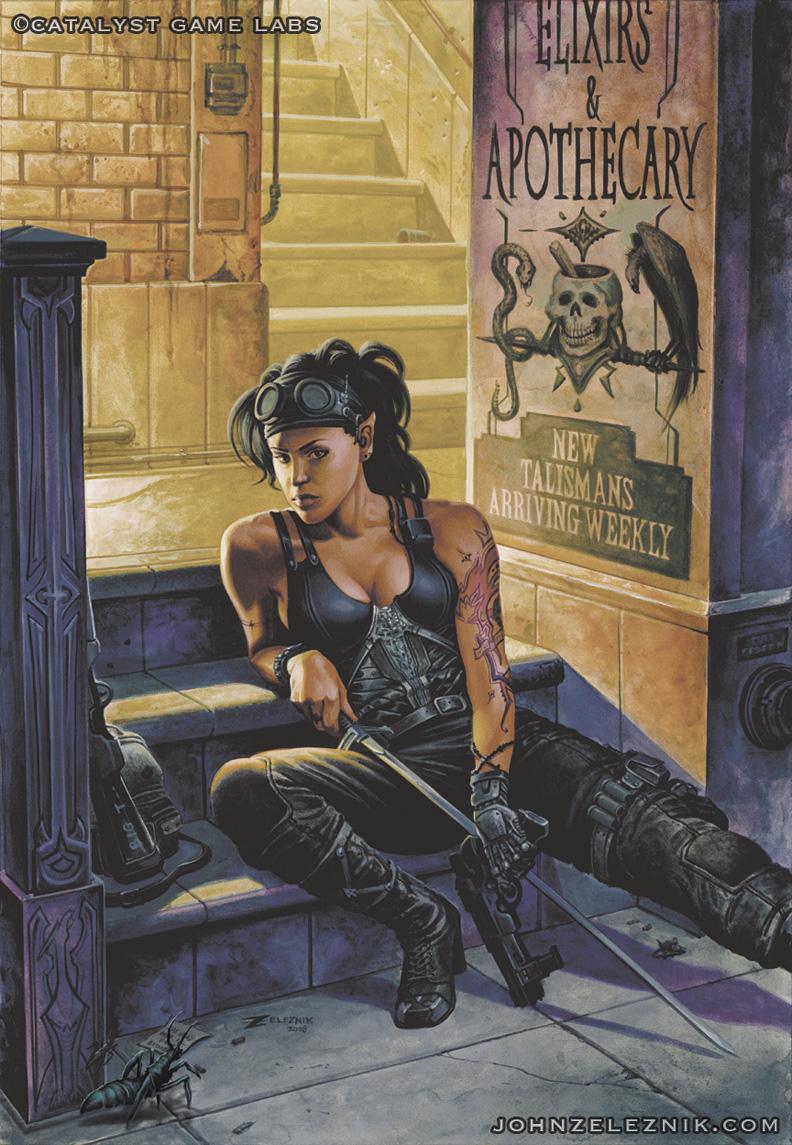 Runner Companion for Shadowrun by Zeleznik