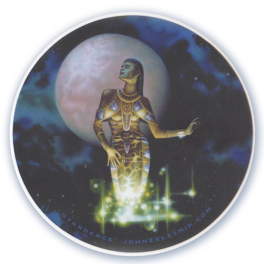 Stardance Sticker by Zeleznik