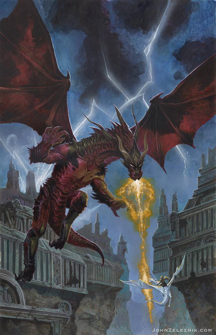 The Dragon Hand by Zeleznik