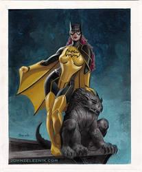 Batgirl and Gargoyle on Ebay by Zeleznik
