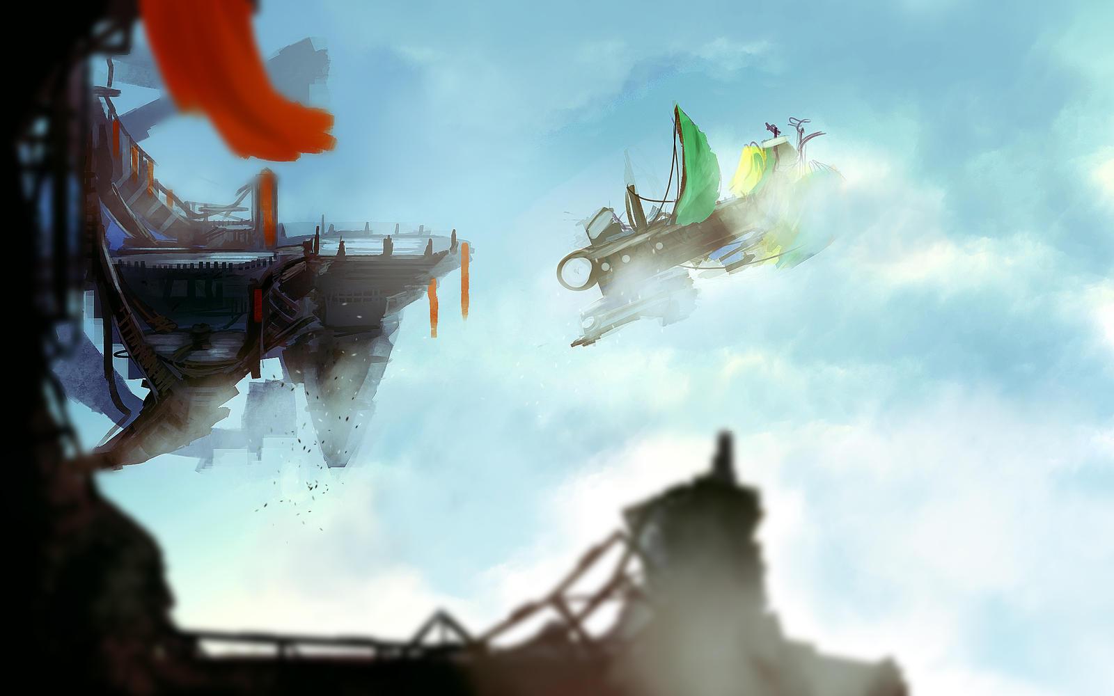 Airship by tenchi24