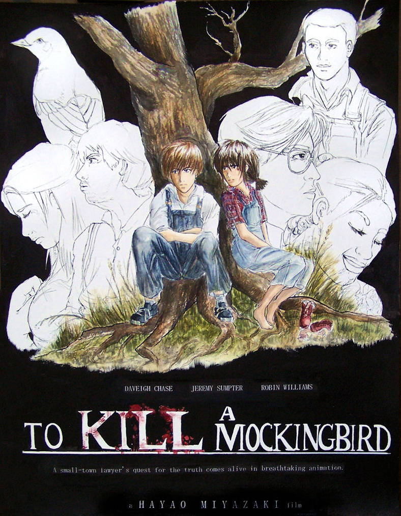 To Kill A Mockingbird by clouded-ambition on DeviantArt