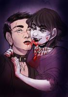 Bathory y Marie by MordredsLullaby
