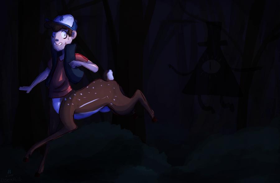 [Monsterfall AU] Run little Deerer, Run by DSerpente