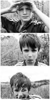 four portraits of Thomas