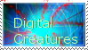 Digital Creature fan stamp by Dragonrage19