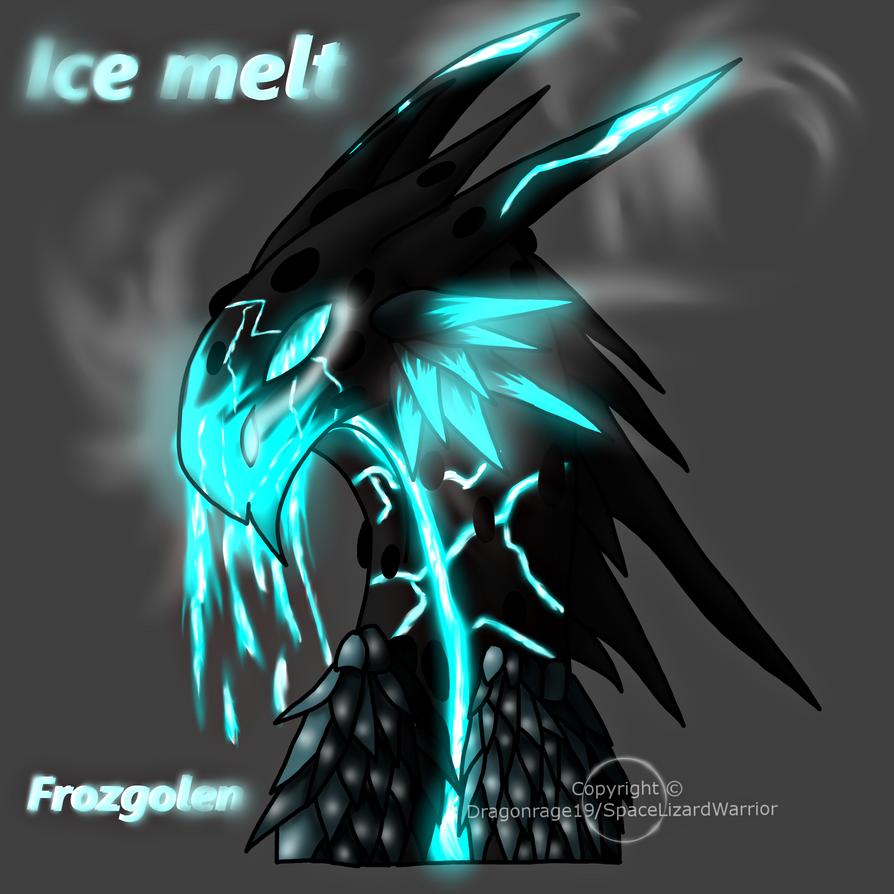Dark strange creature thing (Frozgolen) by Dragonrage19