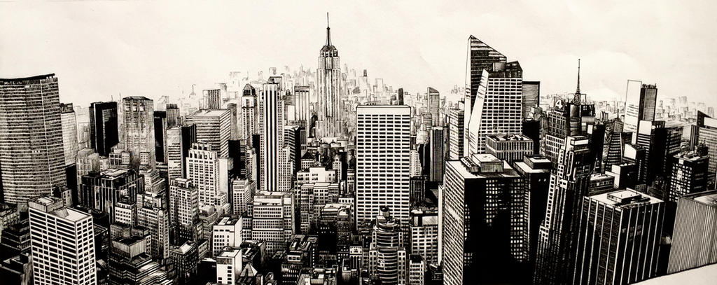 New York Landscape by kinobuta