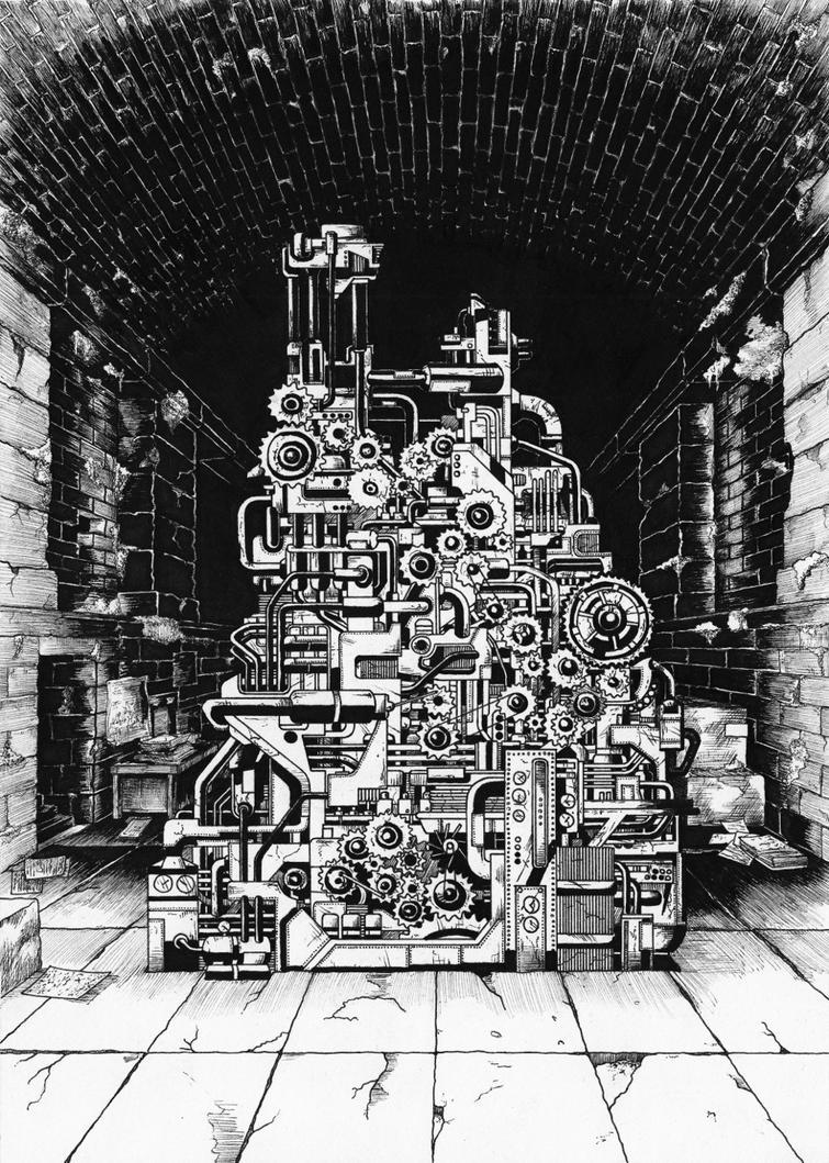The Machine by kinobuta
