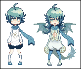 [CLOSED] Sky Dragon Pixel Adoptable by Meicker