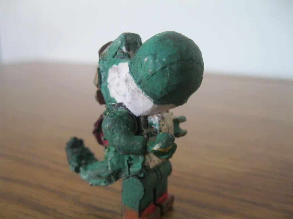 how to build a lego yoshi