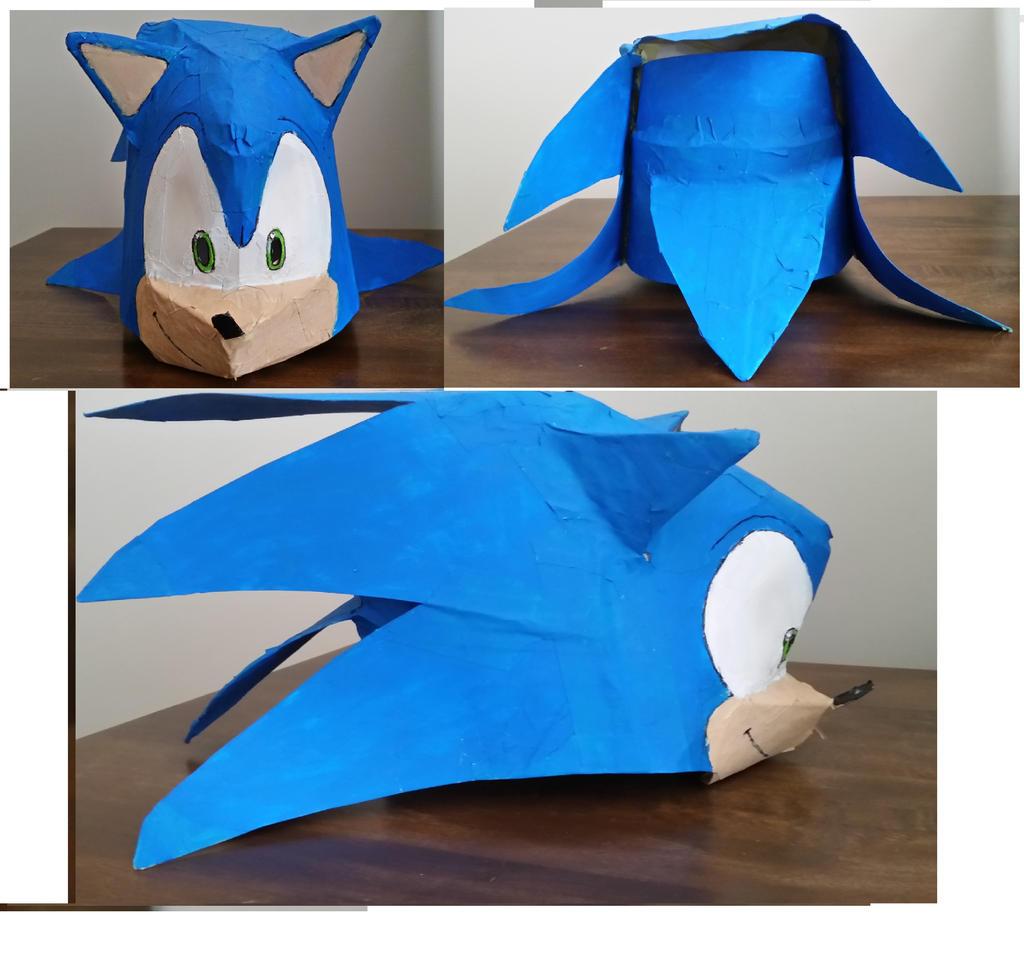 Custom Sonic The Hedgehog Mask By Sonicdavo1994 On Deviantart