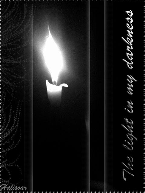 The Light in my Darkness by Halisoar