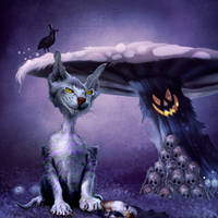 The Darkest Halloween by wollibear