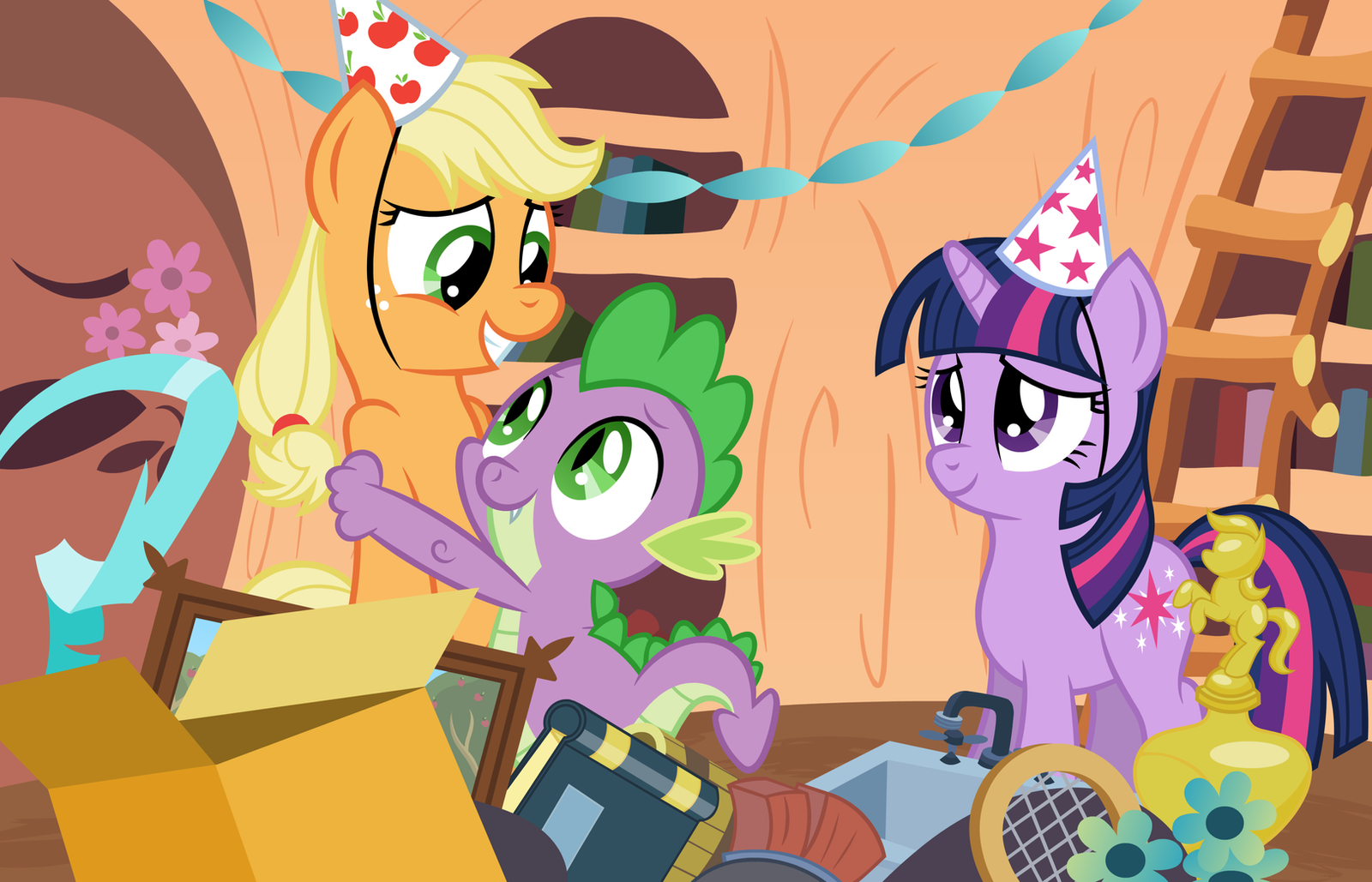Spike's Birthday by wildtiel