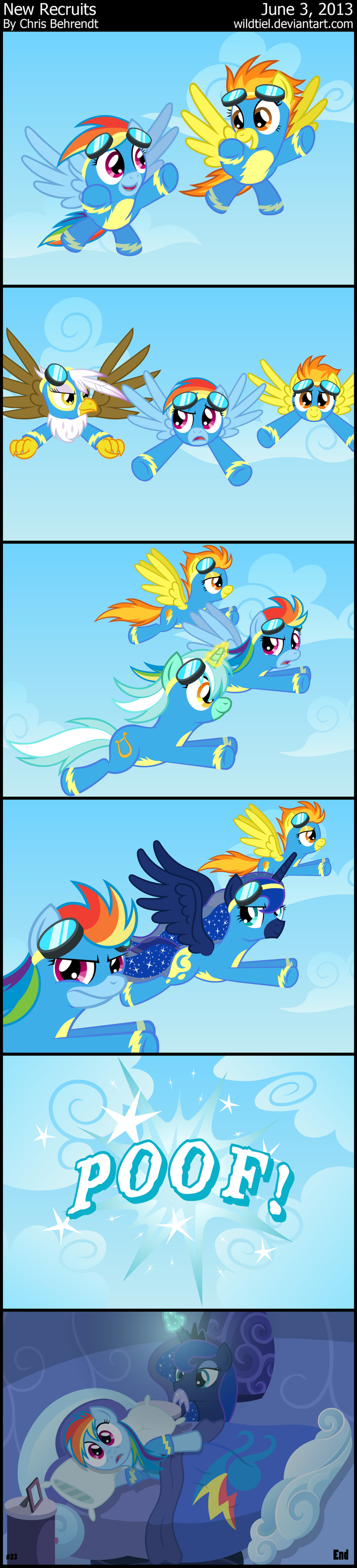 New Recruits by wildtiel