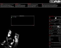 screenshot: openbox with conky by escapado