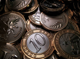 Pretty pretty coin coins by tidalkraken
