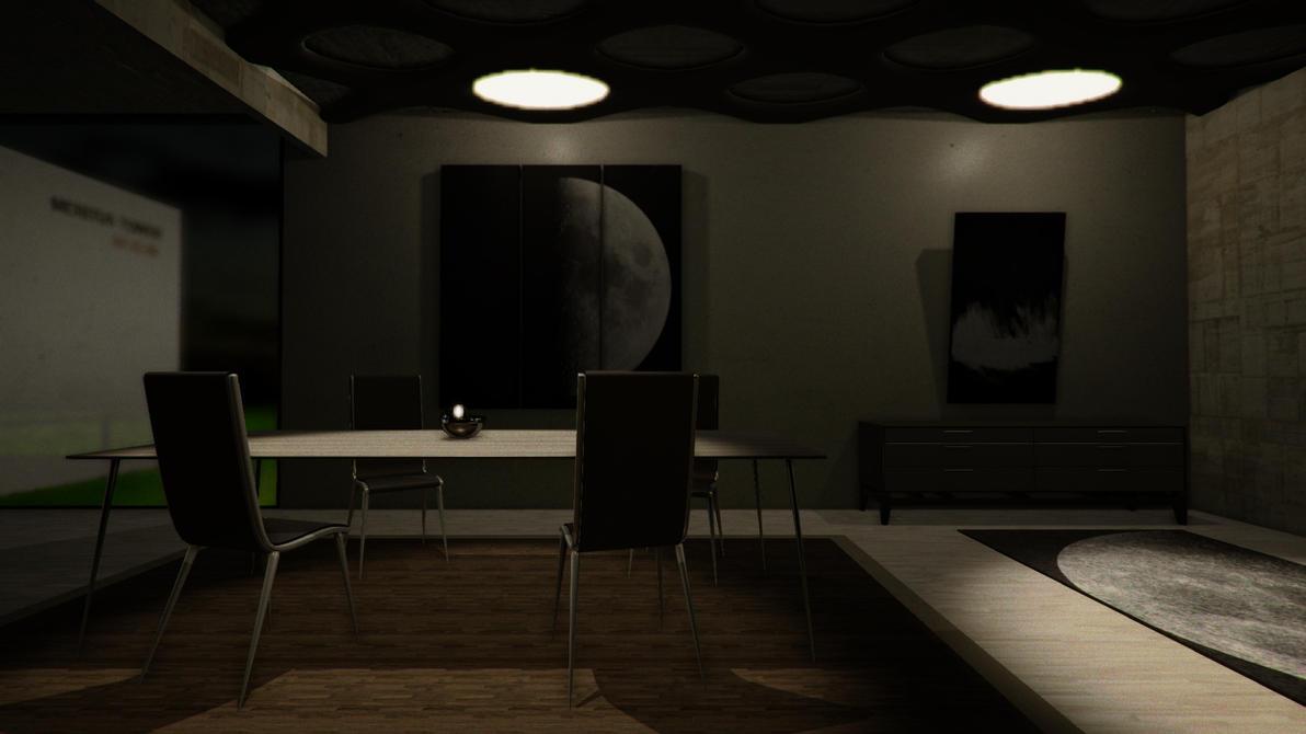 VR SciFi apartment - WIP by tidalkraken