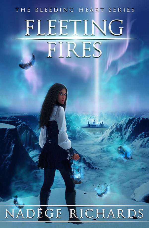 Fleeting Fires - cover art by Morteque