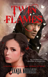 Twin Flames - book cover art by Morteque