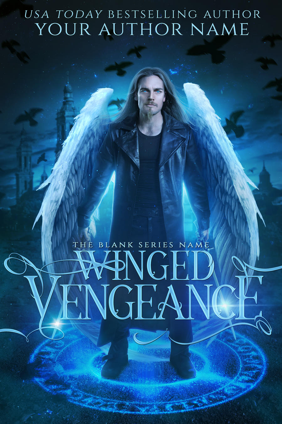 WINGED VENGEANCE premade book cover