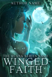 WINGED FAITH premade book cover