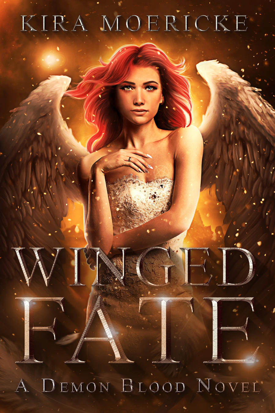 Winged Fate custom ebook cover