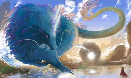 Giant Sisu - Raya And The Last Dragon Fanart