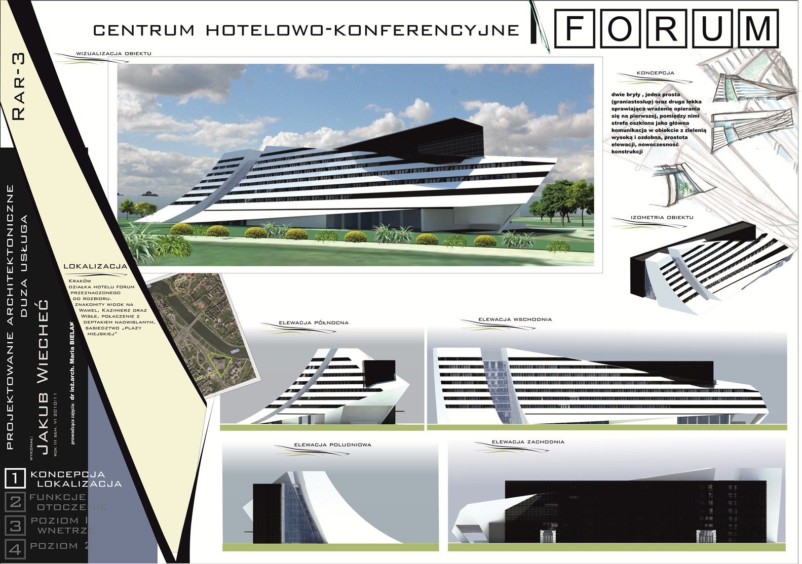 New hotel forum cracow poster 1 by bulaw on deviantart for Architecture poste a poste
