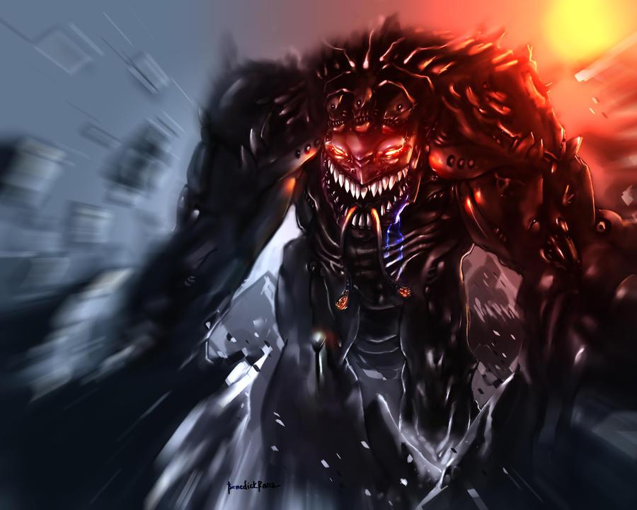 Shadow Titan by benedickbana