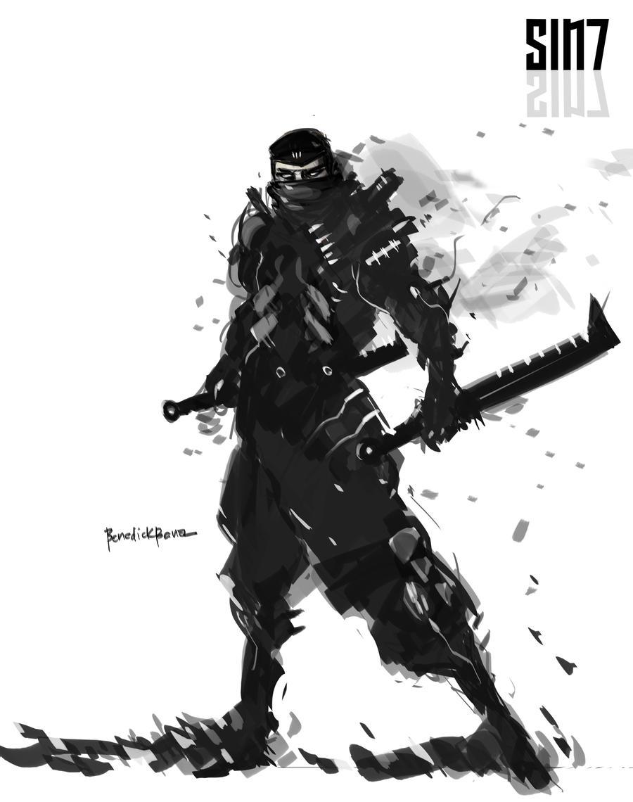 SIN7 Bloodbath by benedickbana
