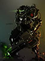 Heavy Gunner Raptor by benedickbana