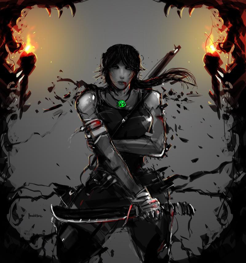 Tomb Raider Reborn entry 1 by benedickbana