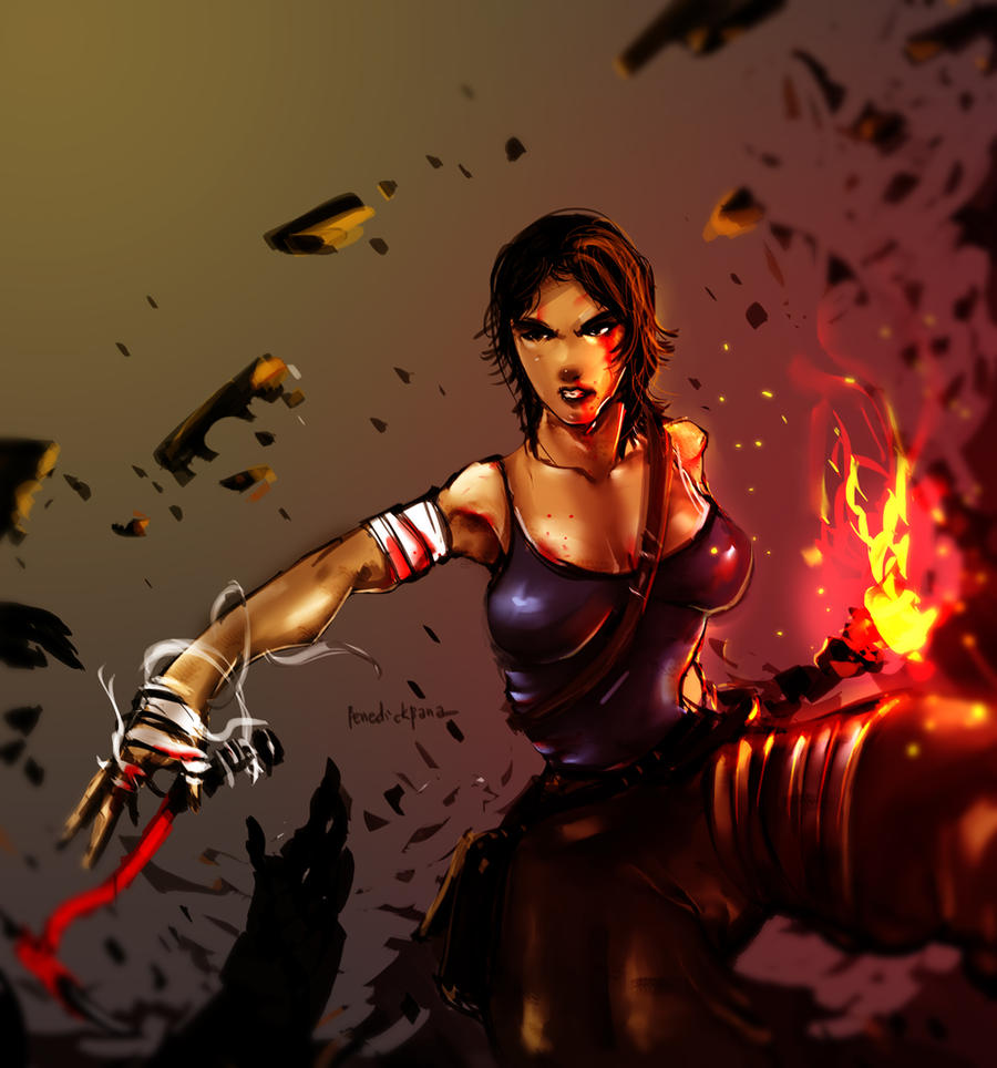Tomb Raider Reborn entry9 by benedickbana