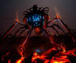 Magma Spider Rider