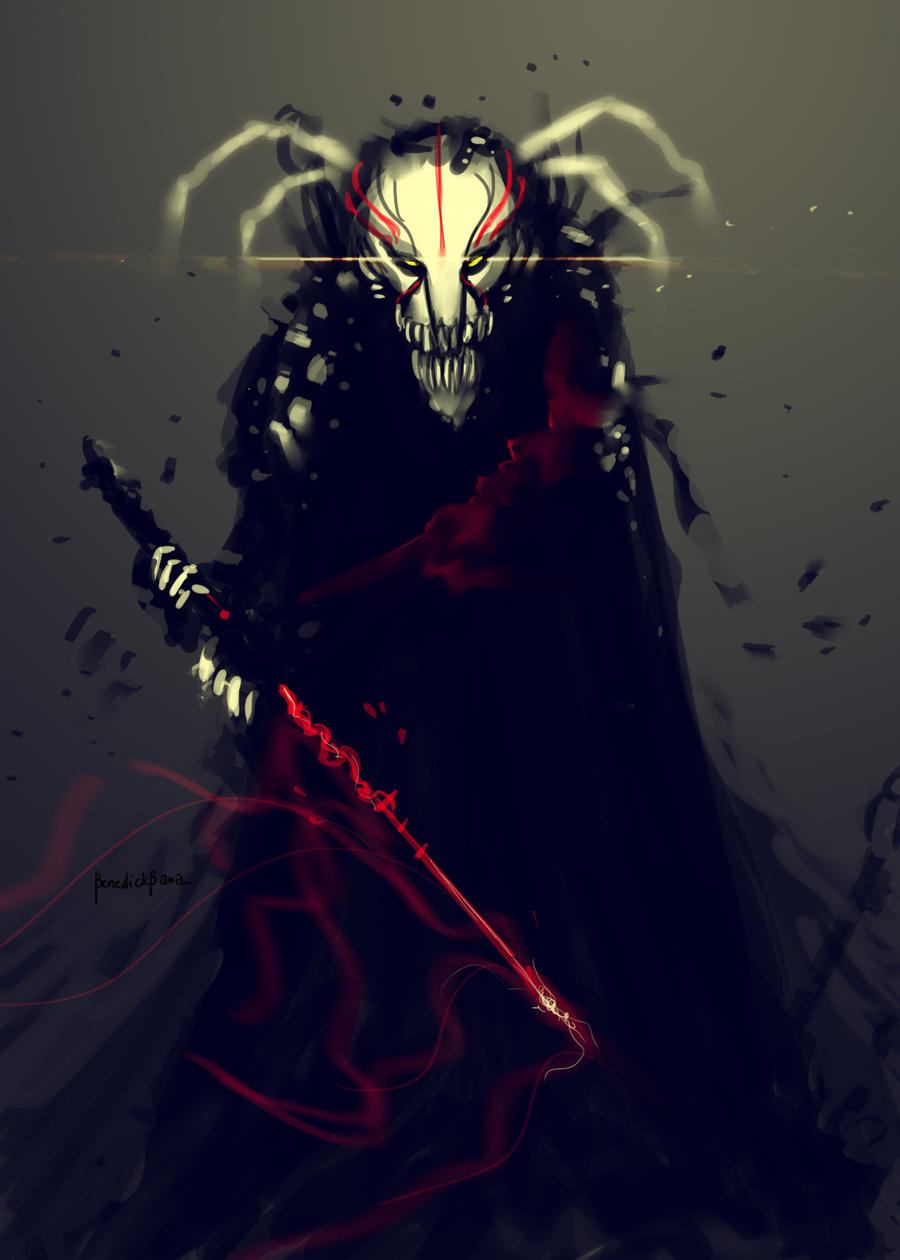 Bleach Mask Fanart by benedickbana