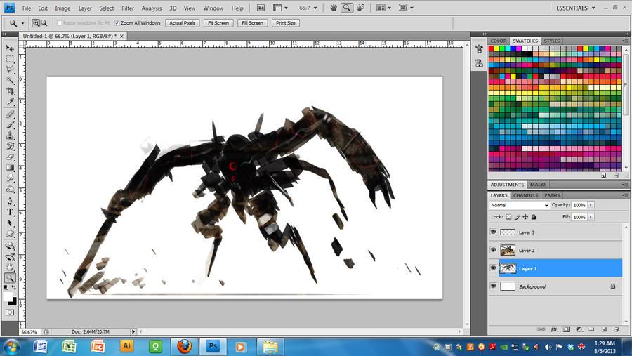 Mech solo design in progress Video process by benedickbana on ...