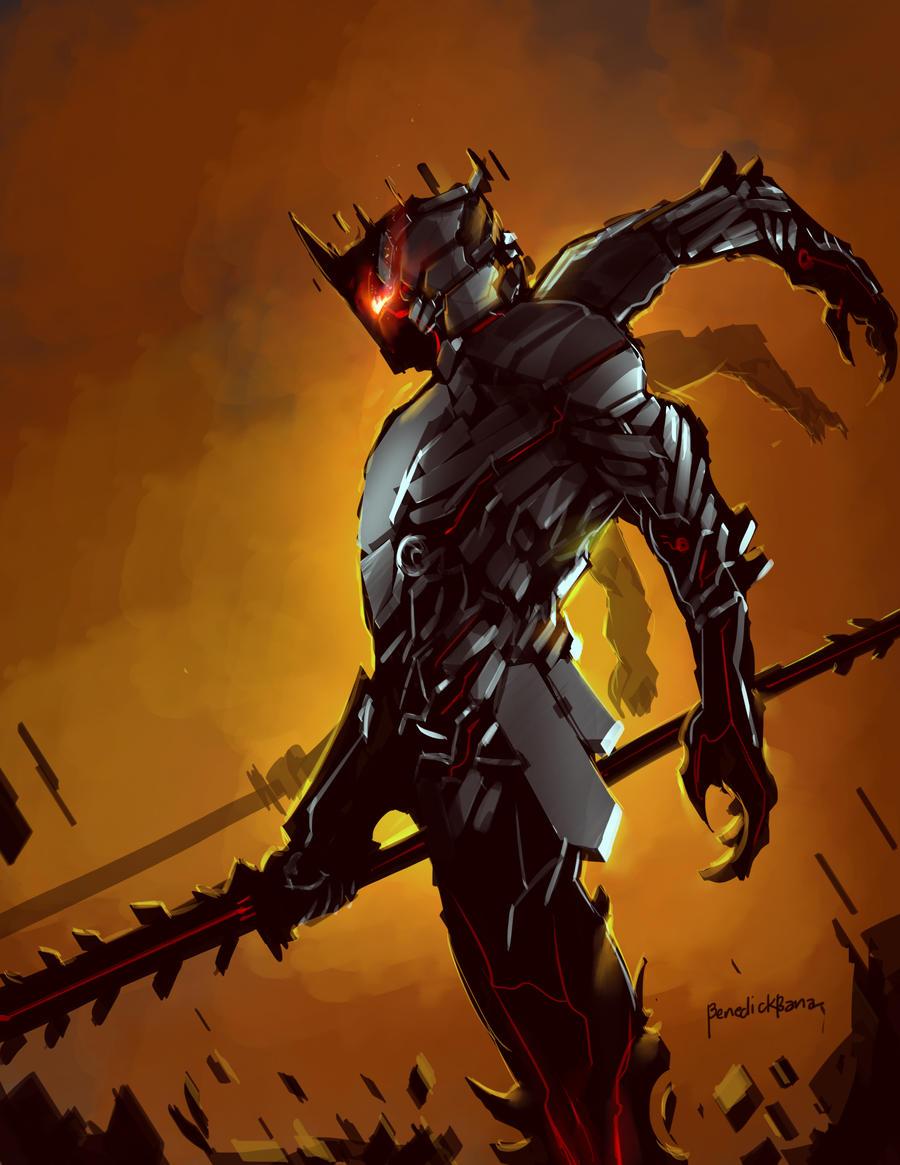Demon Guard Alastor by benedickbana