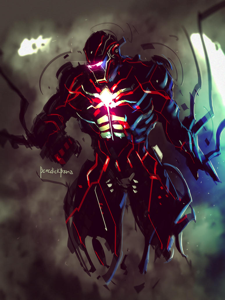dark ironman fanartbenedickbana on deviantart