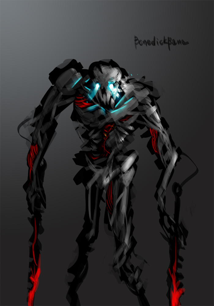 Skeleton Maniac by benedickbana