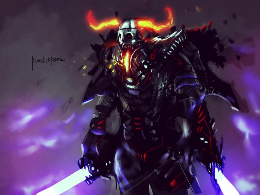 Terror Blade by benedickbana