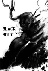 Marvel FanArt BLACK BOLT by benedickbana